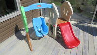 Little Tikes - Hide & Seek Climber and Swing
