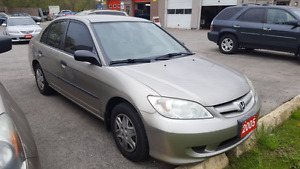 2005 Honda Civic Kitchener / Waterloo Kitchener Area image 1