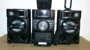 Sub Woofer and Home Stereo System