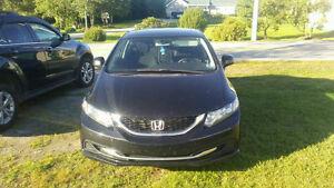 2013 Honda Civic Black Sedan
