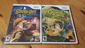 Wii Scooby Doo First Frights & George of the Jungle
