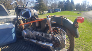 2 motorcycles for sale for parts or restore