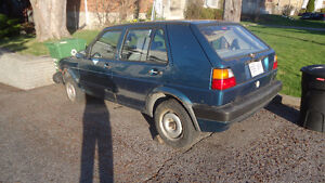 ****PART OUT***1992 Volkswagen Golf Hatchback
