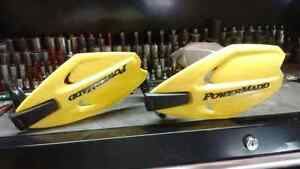 Handle bar sheilds new condition