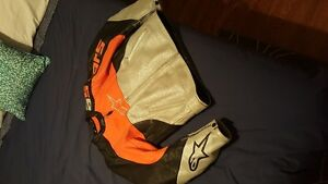 Alpinestars Orange Armored jacket with liner