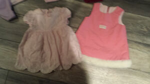 Large lot of baby girl clothes 0-3months