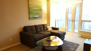 Furnished 1 bdrm + den condo at The Capitol Residences!