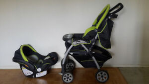 Chicco Stroller and Car Seat