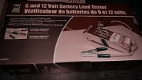 6 and 12 volt battery load tester( brand new)