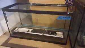 3 different size fish tanks for sale