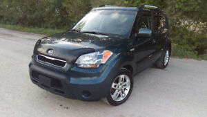 2010 KIA SOUL, CERTIFIED, LOW MILEAGE