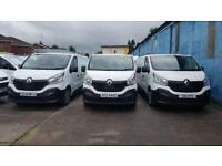 Only 24000 Miles .2015Renault Trafic 1.6dCi Low Roof Van SL27 115 Business