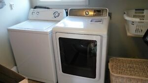 One year old Samsung dryer and Inglis washer for sale..