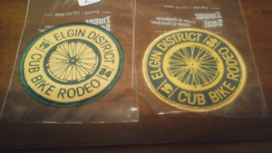 Elgin District Cub Bike Rodeo  1984/86