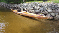 Wood Strip Kayak