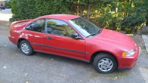 1993 Honda Civic Si Coupe (2 door)