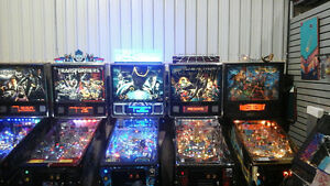 PINBALL MACHINES  & MUCH MORE