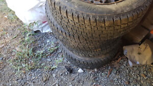 Cooper 195/65R15 studded tires and rims from 07 golf