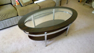 Oval Living room coffee table