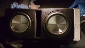 selling dule 10inch clarion car subwoffers and amp