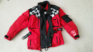 Triumph finish line Motorcycle Jacket high quality material