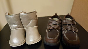 New boots for boys size 11 and girls size 6.5