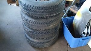 205/75/14 Uniroyal Tires on Rims