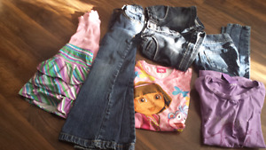 Girls size 5 to 6  clothes  (clean & smoke free )