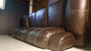 Chestnut Brown Couch.  Gently used condition.