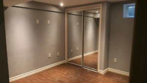 Brand new 2 Bed walkout basement for rent Brampton Small family