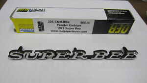 """""""SUPERBEE"""" EMBLEMS FOR SALE London Ontario image 1"""