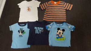 Lot of 55 Baby Boy Clothes 12M. Excellent Condition