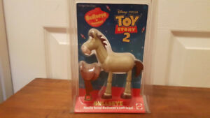"Toy Story 2 ""Bullseye and his saddle"" Original Package by Mattel"