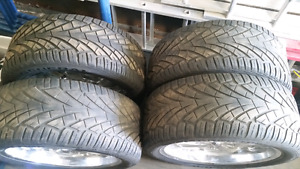 305 45 22 general tire and rims