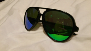 Rare Color changing RAY BAN sun glasses Green,blue,red Italy