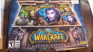 WORLD OF WAR CRAFT BATTLE CHEST FOR PC