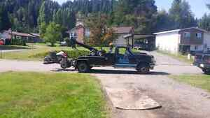 Scrap car removal and towing