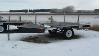NEW RAINBOW 2-PLACE & 4-PLACE SNOWMOBILE/QUAD TRAILERS