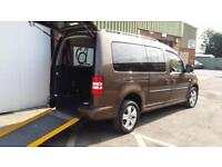 2013 VW Caddy Maxi Life Diesel Automatic Wheelchair Disabled Accessible Vehicle