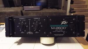 Peavey M-2600 Mark V Series Stereo Power Amp
