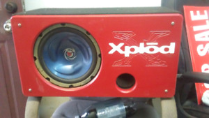 Ported sub box  CALLS ONLY!!!