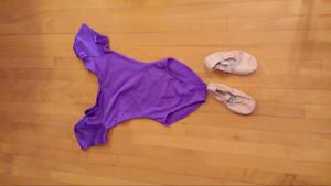 Vetement de ballet 4-5 ans