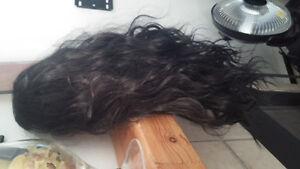 Black Curly hair wig