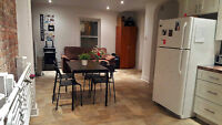 SUBLETTING 3 ROOMS IN RENOVATED APARTMENT DOWNTOWN MONTREAL