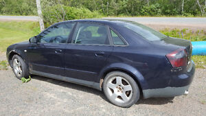 2002 Audi A4 Sedan for parts or project