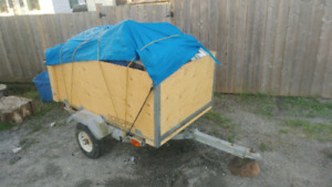 Ready for whatever! 3x5 Box Trailer $350.00