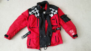 Triumph Motorcycle (L) Jacket, padded, removable liner, High Qua