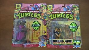 TMNT 25th anniversary edition action figures