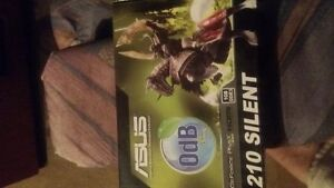 asus gforce210 silent vidio card with hdmi