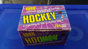 1987-88 O-Pee-Chee Hockey Complete Factory Set